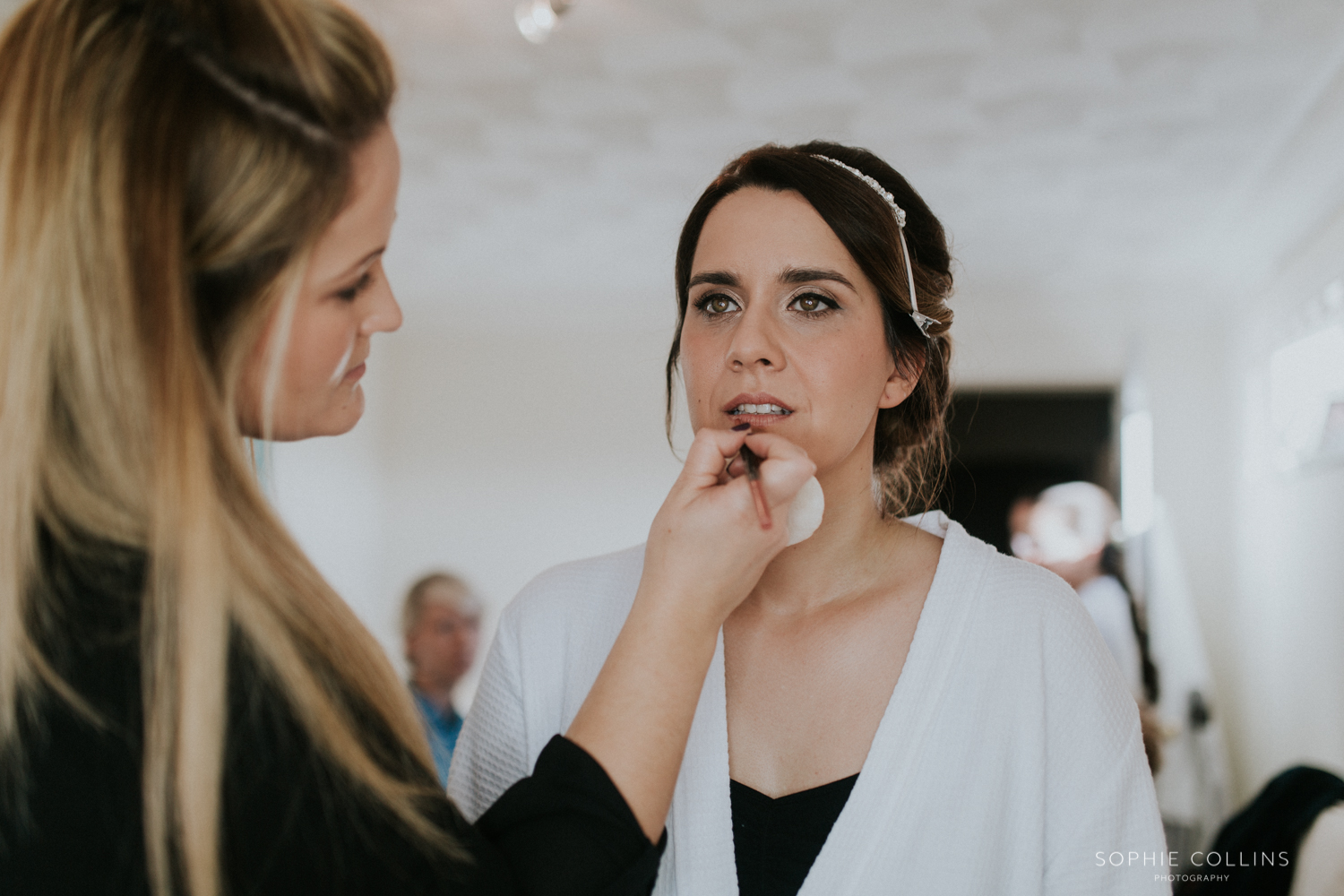 bride make-up