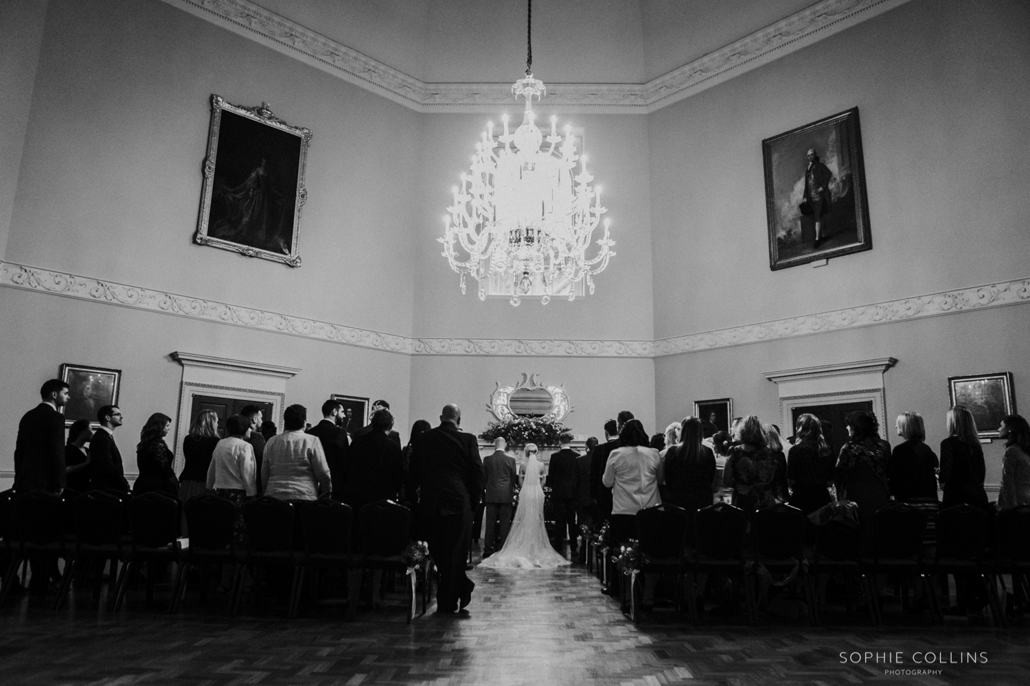 back of the ceremony room